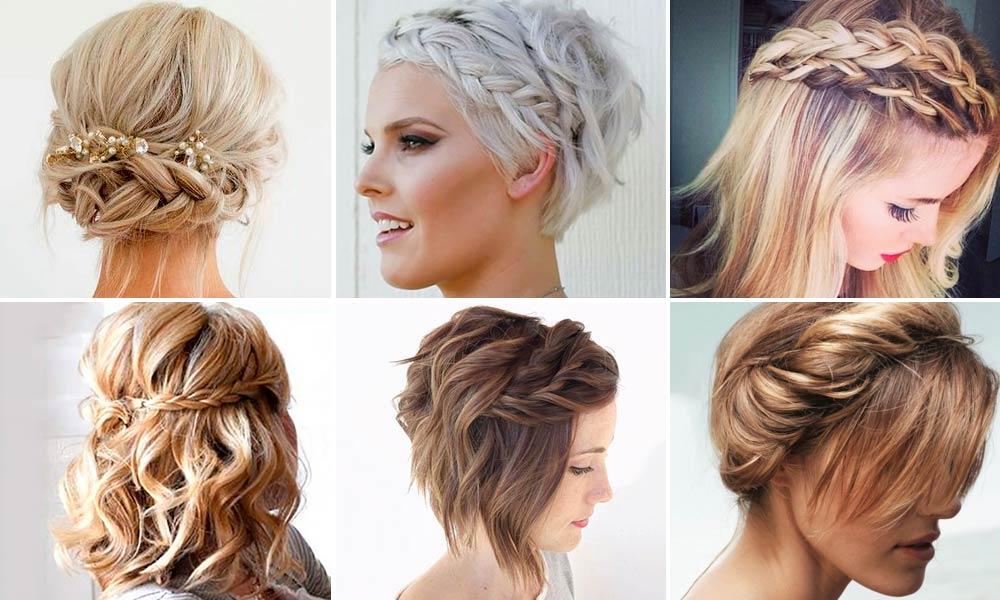 Peinados elegantes pelo recogido