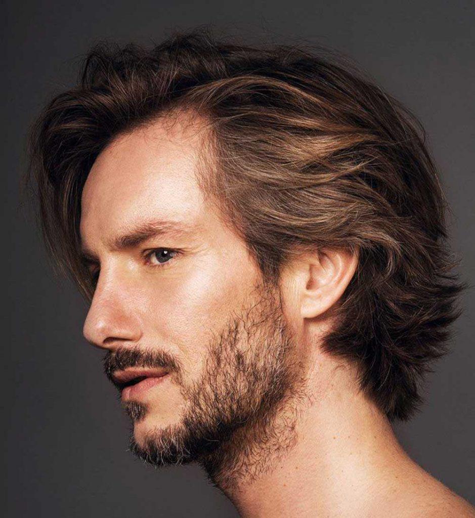En una tendencia ascendente peinados hombre pelo liso y fino Galeria De Cortes De Pelo Tendencias - Cortes de pelo largo de hombres: cortes hermosos para ser ...