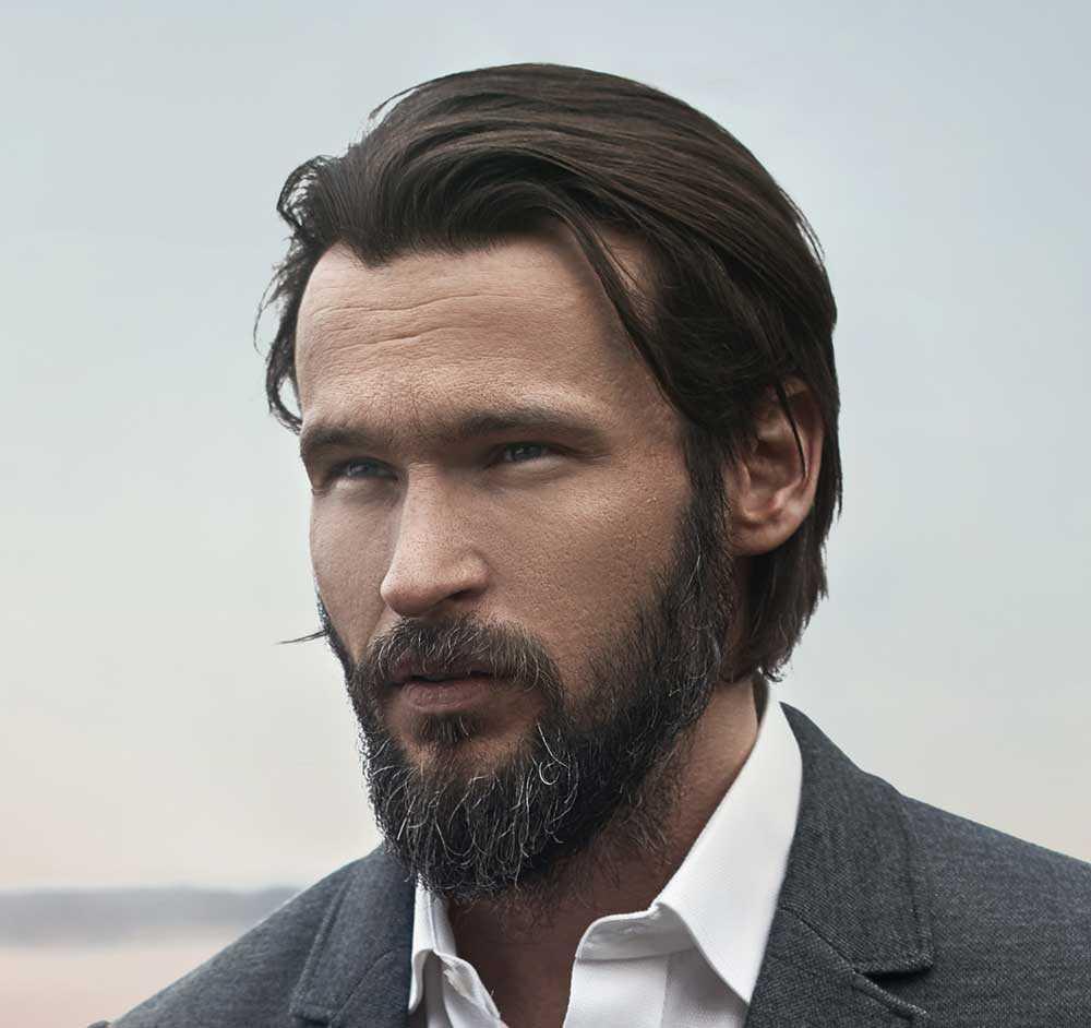Cortes de cabello para hombre en largo